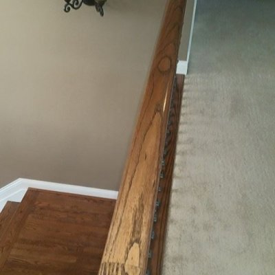 Handrails Before