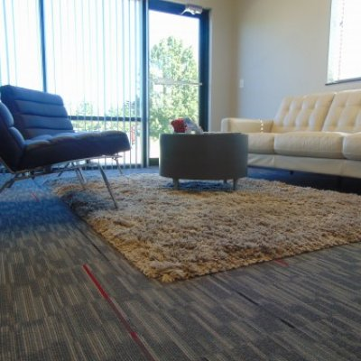 Patcraft Modular Carpet Tile - Collection is Visual Energy, Style is Vivid - 10302 and Color is Night Sky - 00530