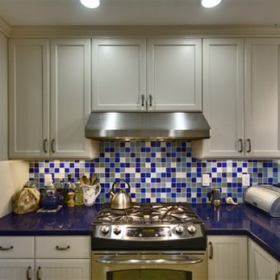 Kitchen Glass Backsplash Mosaics